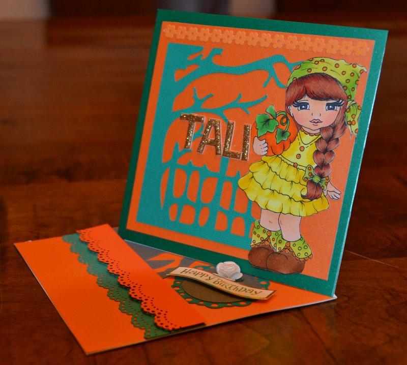 הכרטיס ברכה של טלי