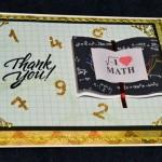 כרטיס ברכה – תודה לויקטור המרצה למתמטיקה
