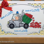 LOADS OF LOVE – המון אהבה PENNY BLACK STAMP & COPIC